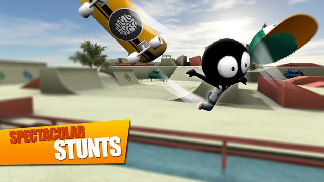 Stickman Skate Battle ScreenShot2