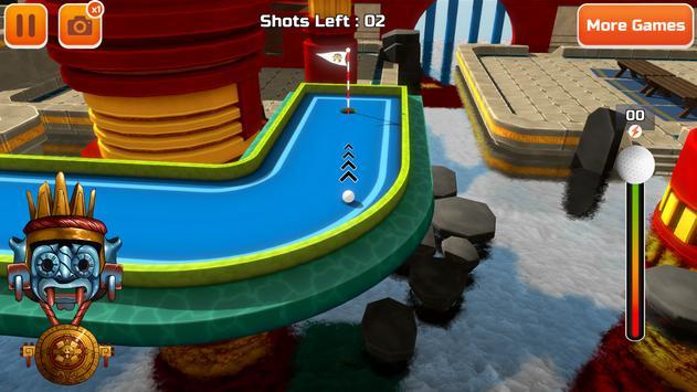 Mini Golf 3D City Stars Arcade  Multiplayer Rival ScreenShot2