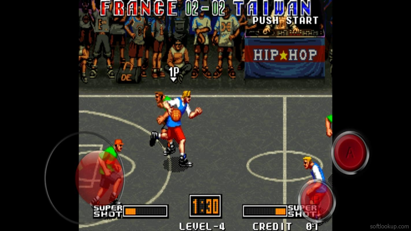 3V3 Basketball game ScreenShot2