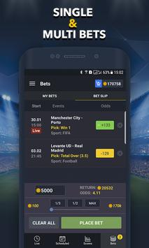 Sports Betting Game  BETUP ScreenShot2