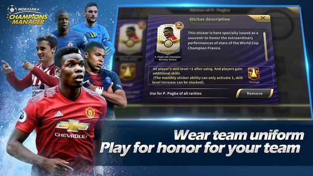 Champions Manager Mobasaka2018 New Football Game ScreenShot2