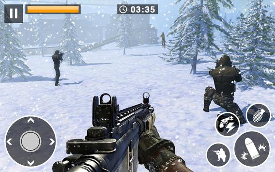 Call for War  Winter survival Snipers Battle WW2 ScreenShot2
