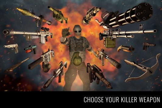 MazeMilitia: LAN, Online Multiplayer Shooting Game ScreenShot2