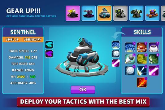 Tank Raid Online  3v3 Battles ScreenShot2