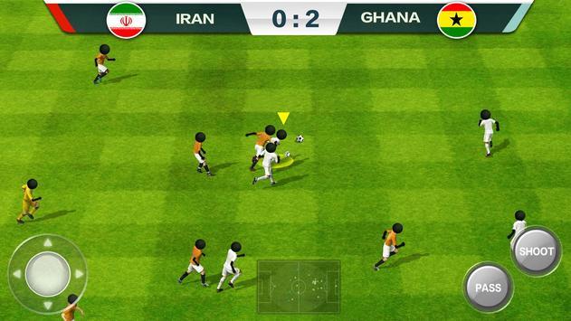 2019 Football Fun  Fantasy Sports Strike Games ScreenShot2
