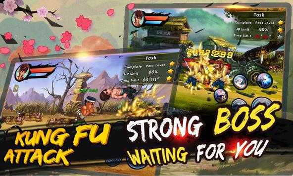 ung Fu Attack:Offline Action RPG ScreenShot2