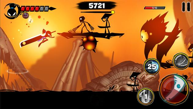 Stickman Revenge 3  Ninja Warrior  Shadow Fight ScreenShot2