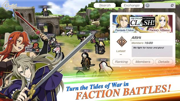 Grancrest War: QuartetConflict ScreenShot2