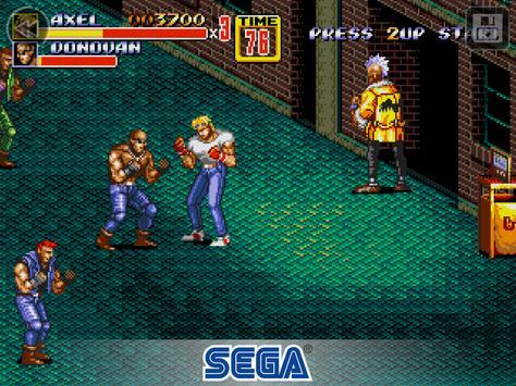 Streets of Rage 2 Classic ScreenShot2