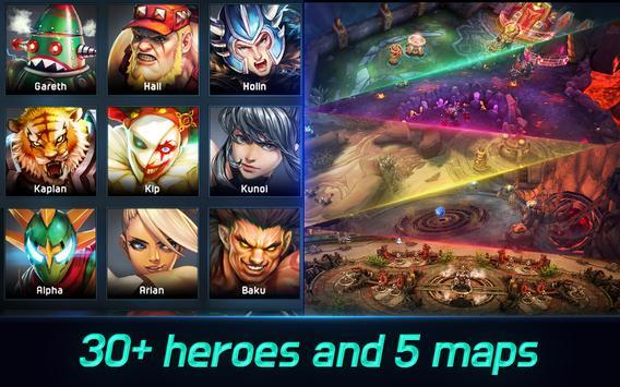 Iron League  Realtime Global Teamfight ScreenShot2
