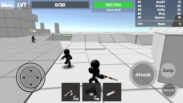 Stickman Unknown Battlegrounds ScreenShot2