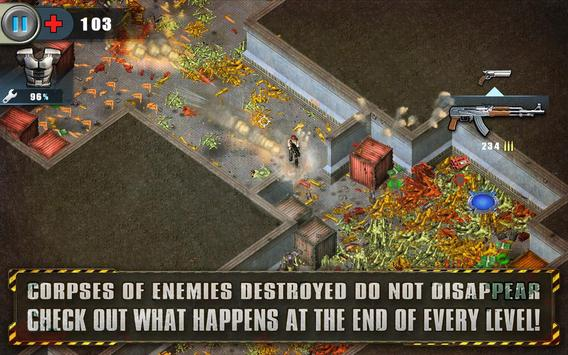 Alien Shooter Free  Isometric Alien Invasion ScreenShot2