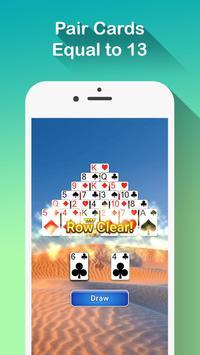 Pyramid Solitaire ScreenShot2