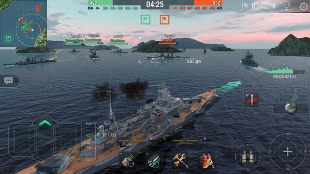 World of Warships Blitz: Gunship Action War Game ScreenShot2