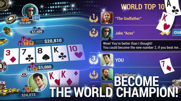 Poker World  Offline Texas Holdem ScreenShot2