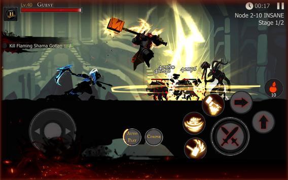 Shadow of Death: Dark night  Stickman Fighting ScreenShot2