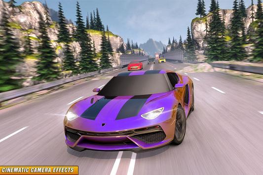 Drive in Car on Highway : Racing games ScreenShot2