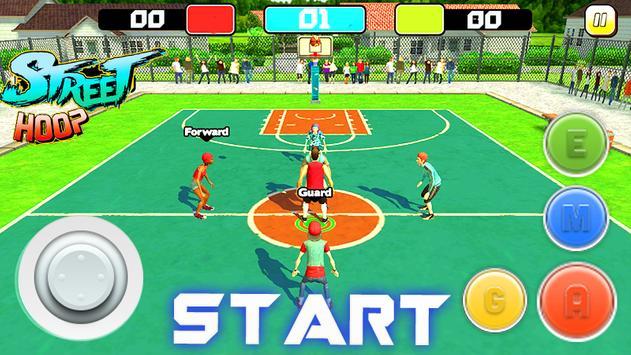 Street Hoop: Basketball Playoffs ScreenShot2