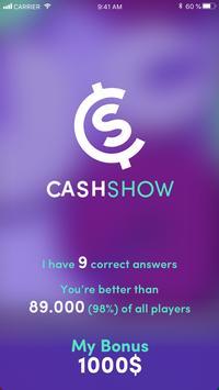 Cash Show  Win Real Cash! ScreenShot2