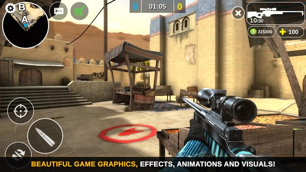Counter Attack  Multiplayer FPS ScreenShot2