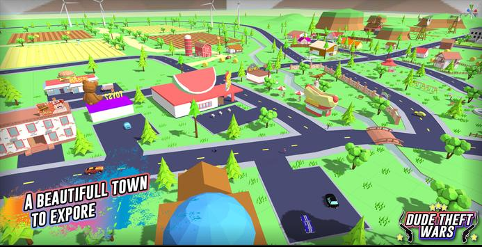 Dude Theft Wars: Open World Sandbox Simulator BETA ScreenShot2