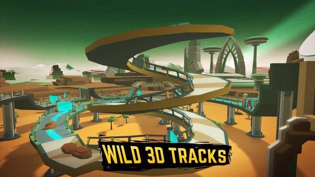 Gravity Rider: Space Bike Racing Game Online ScreenShot2
