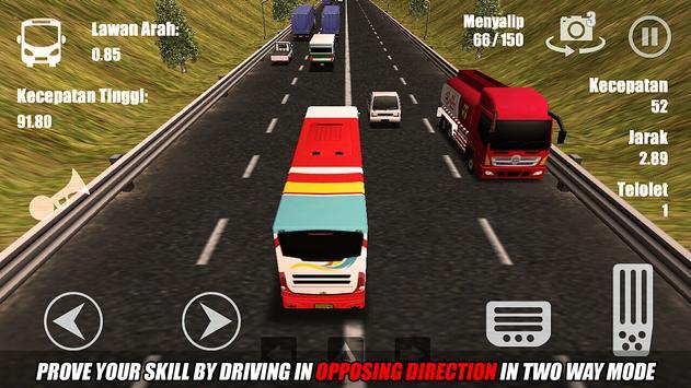Telolet Bus Driving 3D ScreenShot2