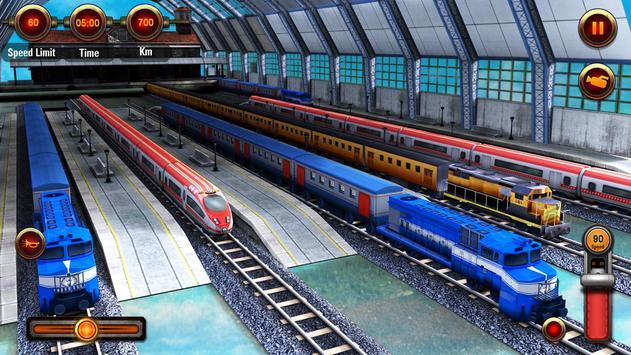 Train Racing Games 3D 2 Player ScreenShot2