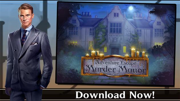 Adventure Escape: Murder Manor ScreenShot2