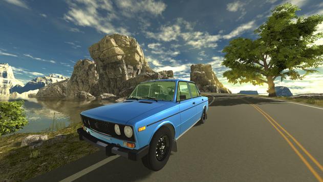 Russian Car Lada 3D ScreenShot2