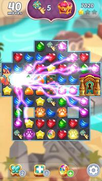 Genies and Gems  Jewel and Gem Matching Adventure ScreenShot2