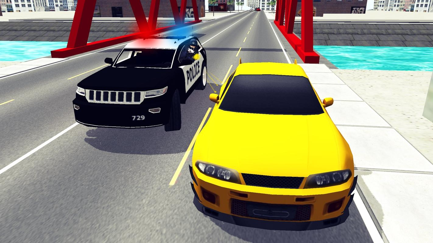 Police Car Chase 3D ScreenShot2