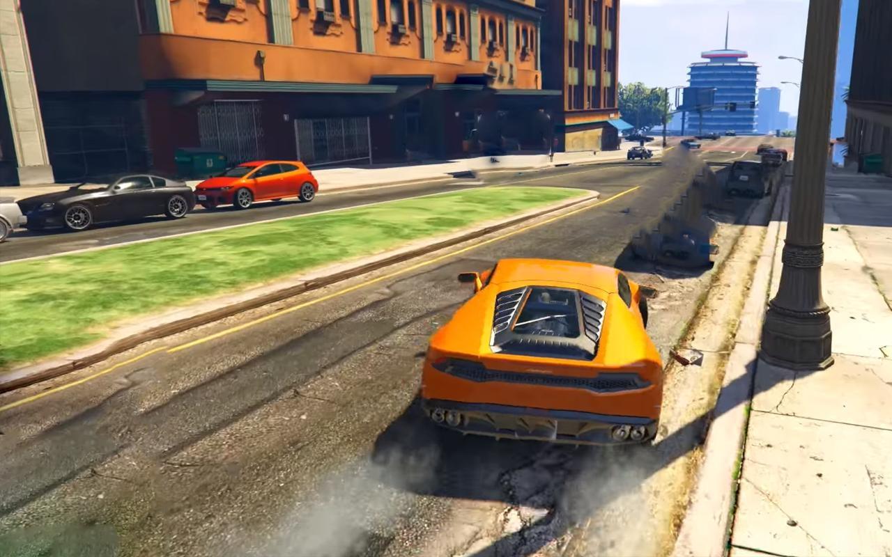 Extreme Car Driving Racing Simulator ScreenShot2