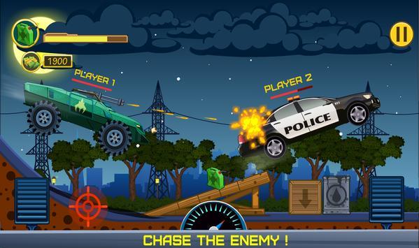 Two players game  Crazy racing via wifi (free) ScreenShot2