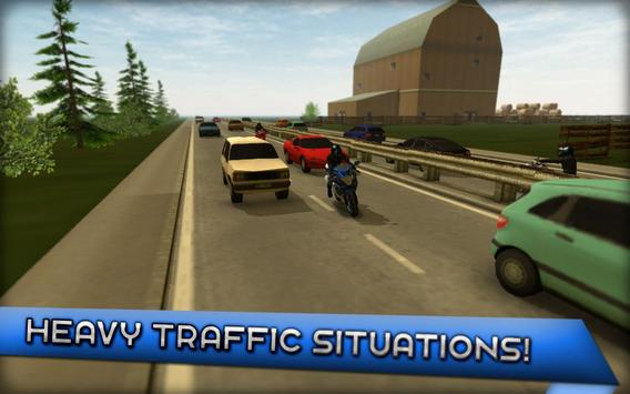 Motorcycle Driving 3D ScreenShot2