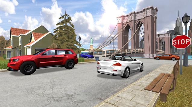 Car Driving Simulator: NY ScreenShot2