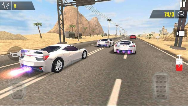 Racing Car Traffic ScreenShot2