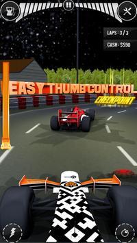 Real Thumb Car Racing; Top Speed Formula Car Games ScreenShot2