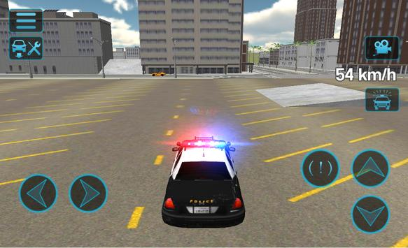 Fast Police Car Driving 3D ScreenShot2