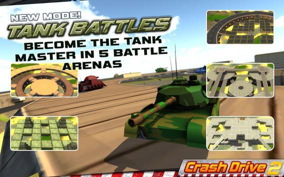 Crash Drive 2: 3D racing cars ScreenShot2