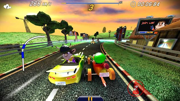 Monkey Racing Free ScreenShot2