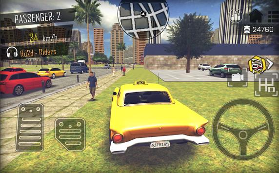 Crazy Open World Driver  Taxi Simulator New Game ScreenShot2