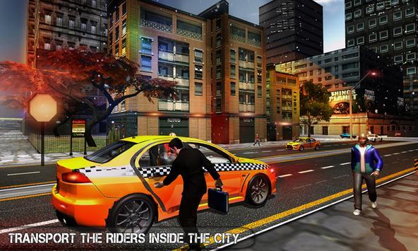 Pro TAXI Driver Crazy Car Rush ScreenShot2