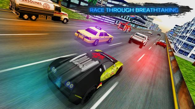 Lightning Cars Traffic Racing: No Limits ScreenShot2