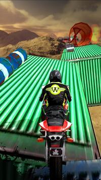 Impossible Bike Stunts 3D ScreenShot2