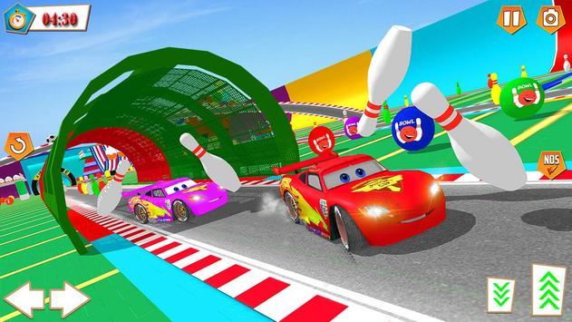 Mcqueen Cars Superhero Lightning Race ScreenShot2