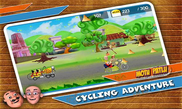 Motu Patlu Cycling Adventure ScreenShot2