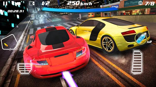 Crazy Racing Car 3D ScreenShot2