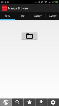 Manga Browser - Manga Reader ScreenShot3
