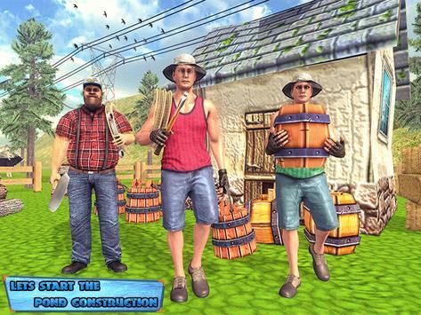 Fishing Farm Construction Sim 2019 ScreenShot3